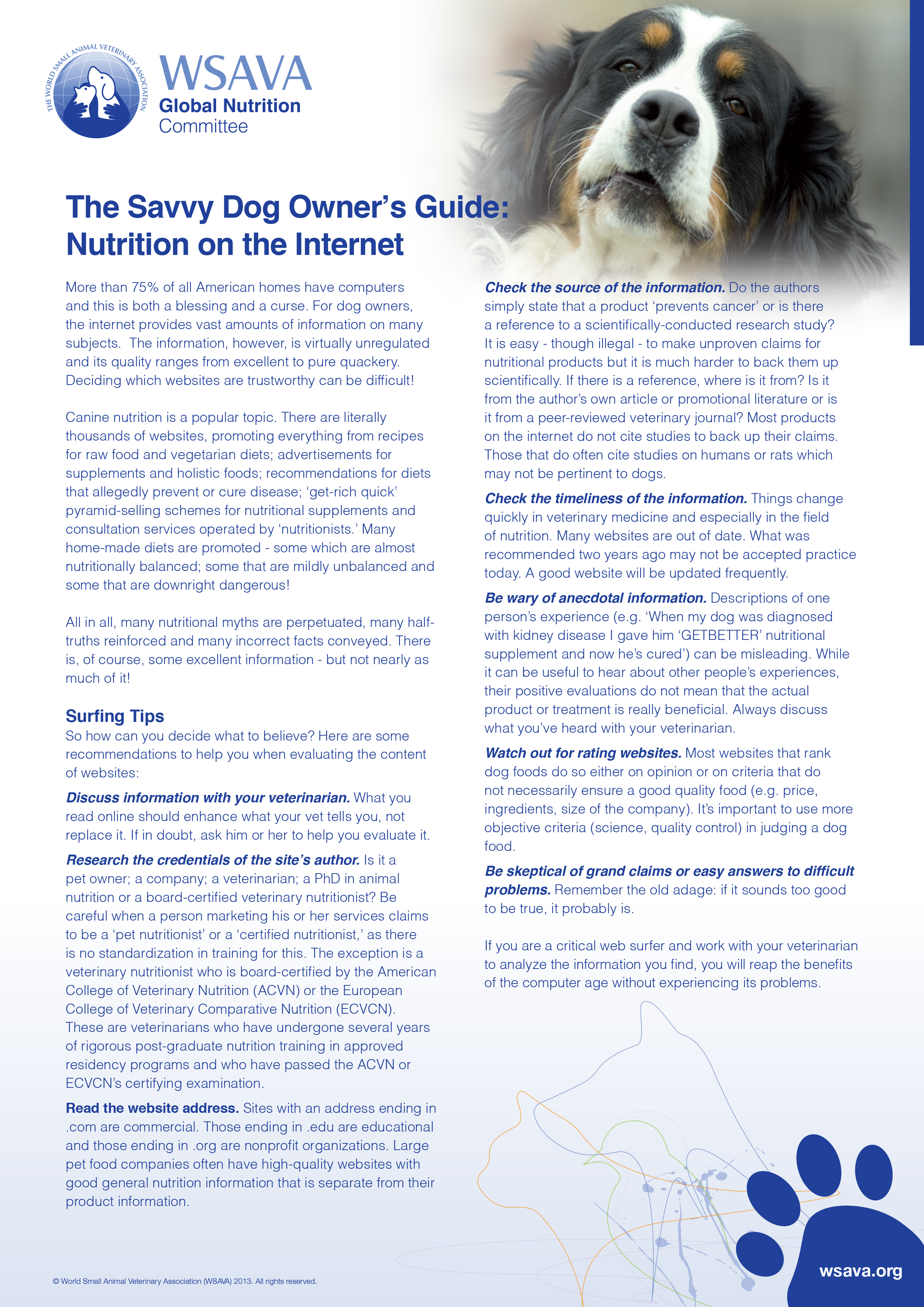 The-Savvy-Dog-Owner-s-Guide-to-Nutrition-on-the-Internet Page1